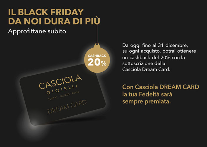 Casciola Gioielli Black Friday
